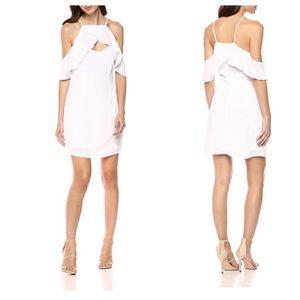 BB Dakota Revolve White Sleeveless Kaless Dress